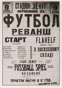 L'affiche du Match de la mort
