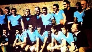 L'Uruguay remporte la Coupe du Monde au Brésil en 1950.