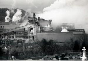 La fin des années 70 marque le déclin de l'industrie sidérurgique française