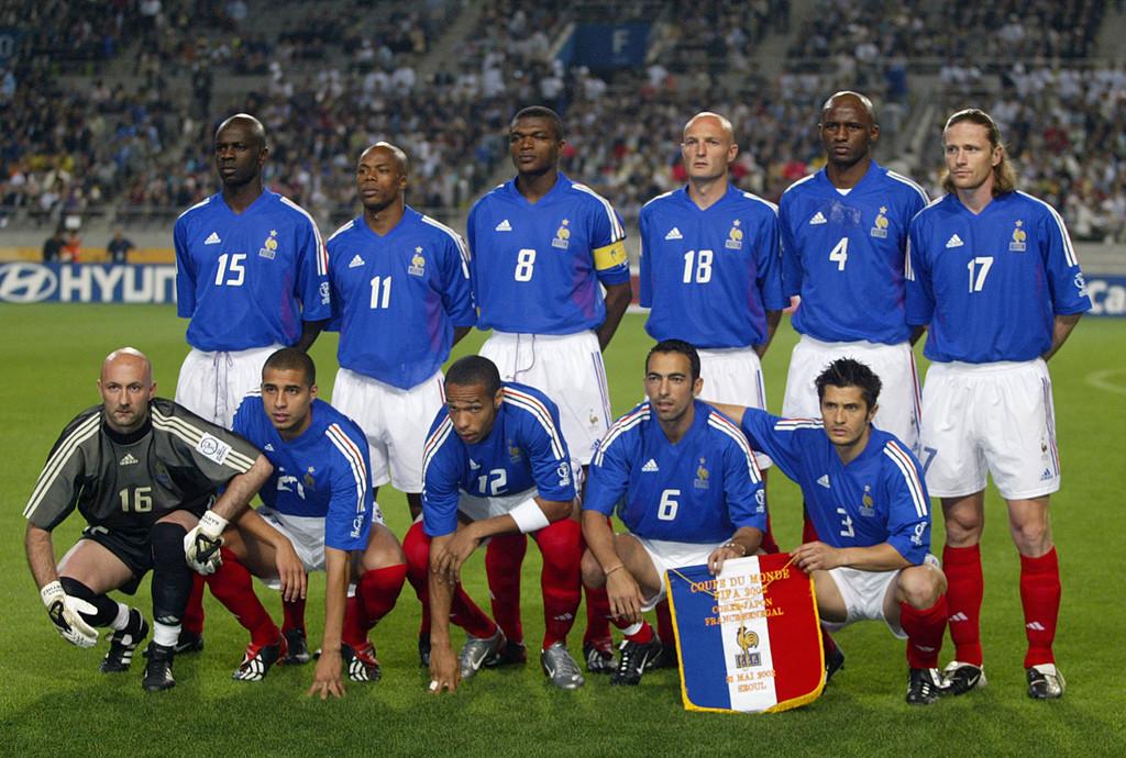 L'Equipe de France 2002