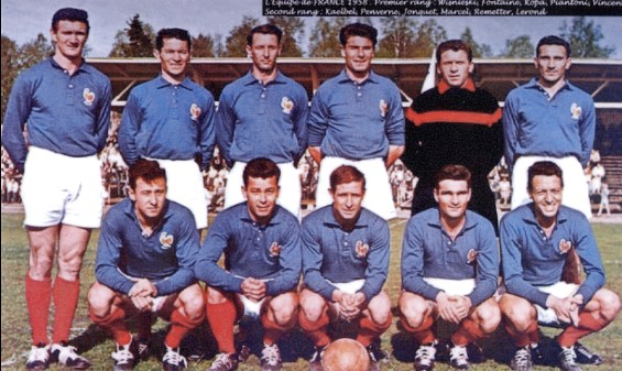 Equipe de France 1958