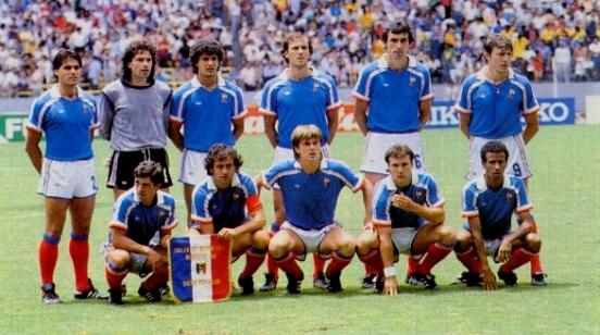 Equipe de France 1986