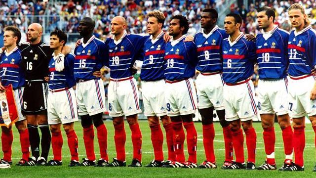 Equipe de France 1998 - France