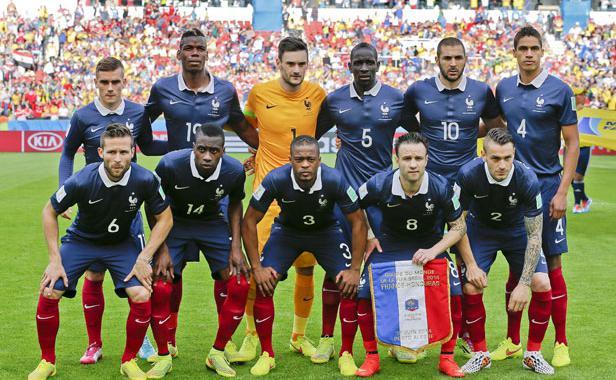 Equipe de France 2014 - Brésil