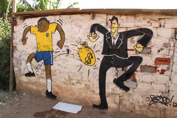 Street Art Brésil 2014