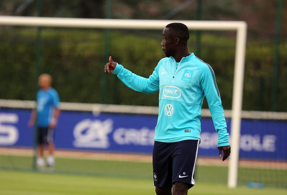 Bacary Sagna en septembre 2015 en équipe de France
