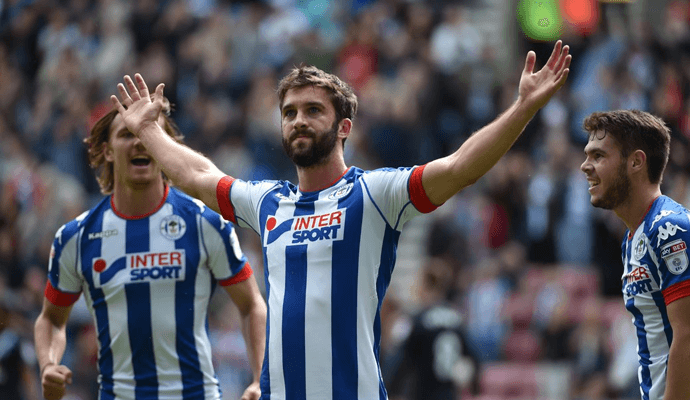 Will Grigg à Wigan