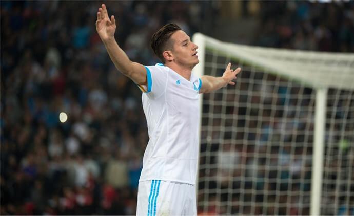 Florian Thauvin, meilleur joueur de la 7ème journée de Ligue 1