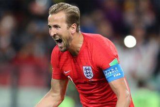 Harry Kane, meilleur buteur de la Coupe du Monde 2018
