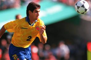 Andres Escobar défenseur Colombien descendu pour avoir marqué contre son camp