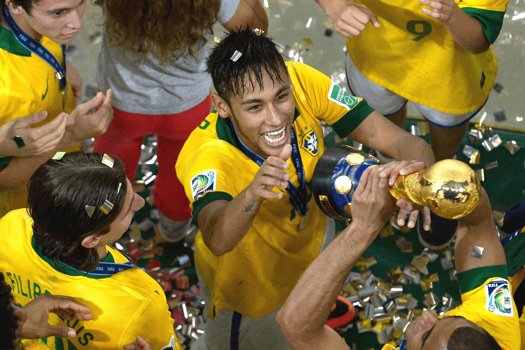 Le Brésil remporte la Coupe des Confédérations à domicile