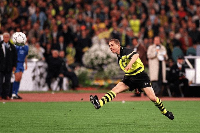 Lars Ricken héros de la Ligue des Champions 1997 avec Dortmund face à la Juventus de Turin