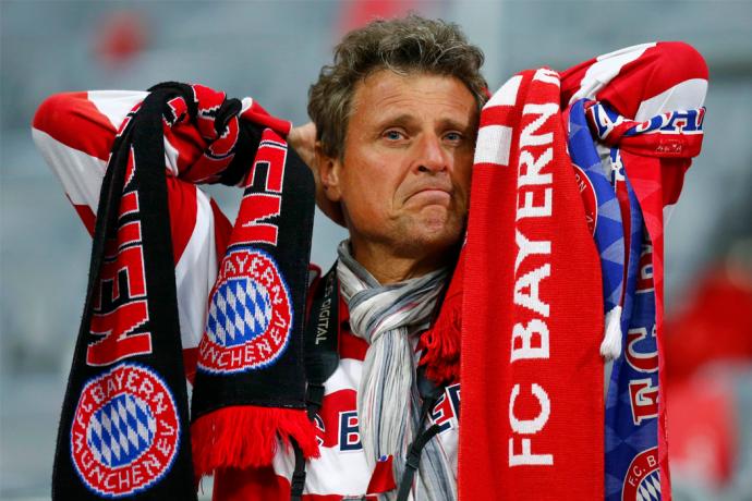 Le Bayern Muniche s'est fait battre à domicile par une froide équipe du Real Madrid 4 buts à 0