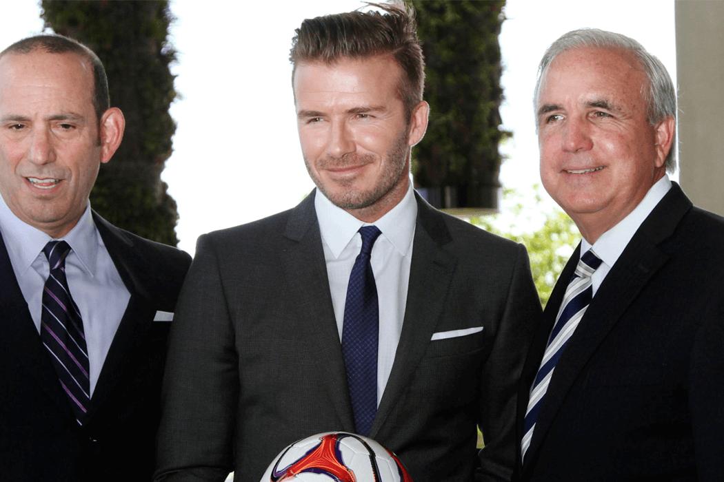 David Beckham veut fonder une franchise à Miami