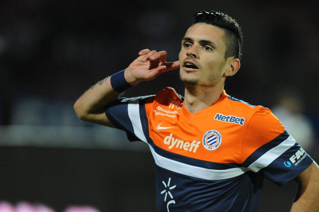 Rémy Cabella leader offensif de Montpellier