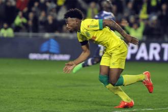 Georges-Kévin N'Koudou est une des révélations du FC Nantes