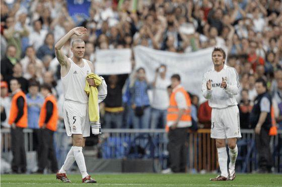 Dernier match Zidane