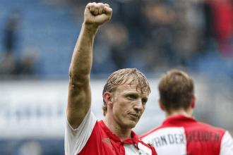 Dirk Kuyt sous le maillot de Feyenoord