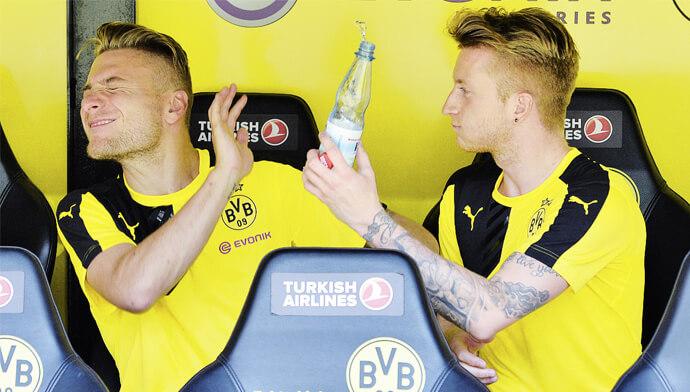 Ciro Immobile n'a jamais été en réussite sous le maillot de Dortmund