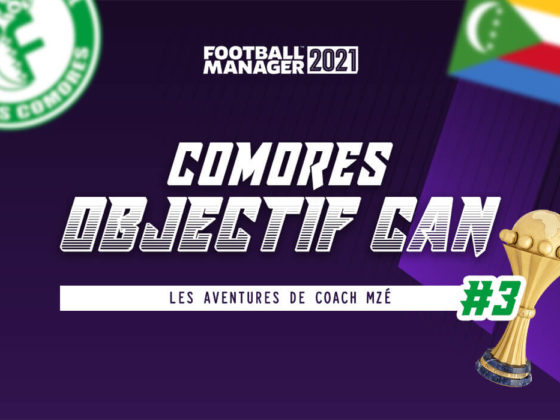 Football Manager 2021 : défi, Comores à la CAN